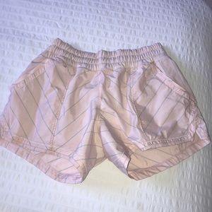 Lululemon pale pink shorts size 4